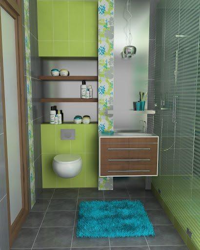 Idee bagno piccolo progetti e realizzazioni a roma for Idee per arredare il bagno piccolo