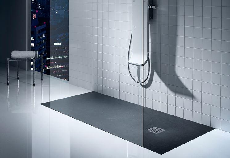 Installazione piatto doccia filo pavimento - Doccia a filo pavimento ...