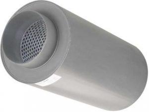 Ventilation-aperture-silencer